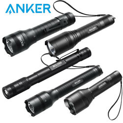 Anker Rechargeable LED Flashlight Portable Indoor Outdoor Light Water Resistant