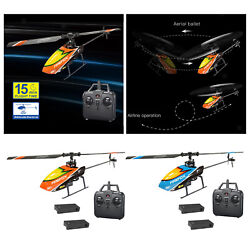 Remote Control Helicopter 6 axis Gyro 4 Channel Mini RC Helicopter for Kids $58.96