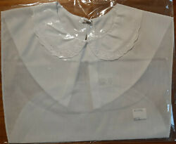 Womens shirt front Dickie w Lace Collar White $5.00