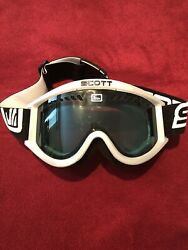 SCOTT SKI GOGGLES BLUE LENS USED IN GOOD CONDITION $12.00