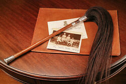 Rare Antique Colonial British Raj Horsetail Fly Swatter Military Interest Horse $245.00
