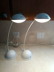 Tensor Desk Table or Reading Lamps Adjustable Set of Two $15.00