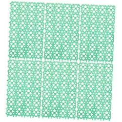Rabbit Cage Mats Floor Plastic Feet Pads Mat for Pet Cats Dogs Bunny 6 pack $21.55