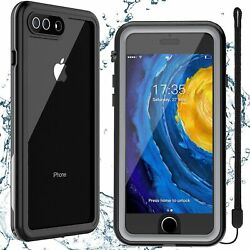 For iPhone 7 Case Waterproof iPhone SE 2020 8 plus Cover with Screen Protector $14.99