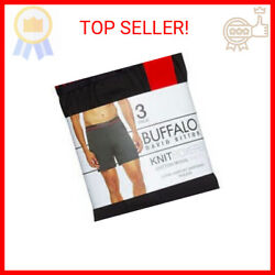 Buffalo Men#x27;s Boxer Black Size L 3 Pack
