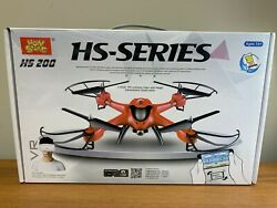 Holy Stone HS200 Red Drone 360 3D Eversion RC Quadcopter Live Camera $43.99