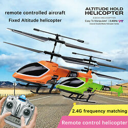 2.4G Remote Control Helicopter w Altitude Hold Indoor RC Helicopter for Kids $42.79