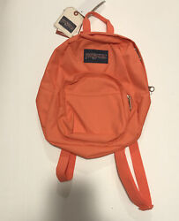 Jansport Half Pint Backpack Sedona Sun Orange $17.99
