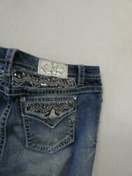 NWOT MISS ME MID RISE EASY ANKLE SKINNY JEANS sz 32 as is $49.99