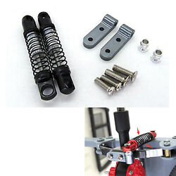 Aluminum Alloy Rear Axle Spring Shock Absorber DIY for RC Car WPL D12 Upgrade#US $27.88