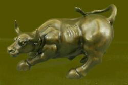 The Charging Bull has become a symbol synonymous with financial power Bronze Art $254.25