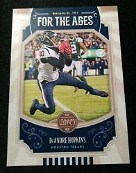 L62 2019 Legacy For the Ages #FTA DH DeAndre Hopkins $1.99