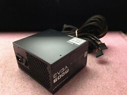 EVGA 600W 80Plus Power Supply 100 W1 0600 C1718 $44.99