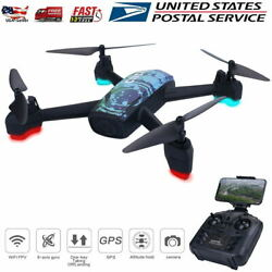 JXD 518 Drone RC Quadcopter with Camera Wifi FPV GPS Positioning Altitude Hold $109.99