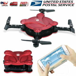 Mini Foldable Pocket RC Drone Wifi FPV with 0.3MP Camera Quadcopter Helicopter $34.99