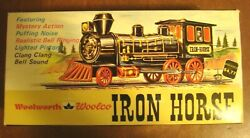 Woolworth Battery Operated IRON HORSE Train Marx Toys HK 6520 $100.00