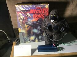 Vintage Tin Marx Battery Operated The Mighty Kong With Remote 1950s Japan $584.99