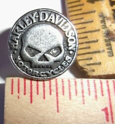 Willie G Harley pin small HD motorcycle collectible old biker vest badge pinback $9.95