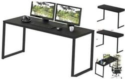 Home Office 48 Inch Computer Desk Black $80.63