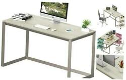 Triangle Leg Home Office Computer Desk Silver Gray 48 inch Grey $119.54