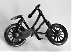 Rd no. for 1884. Stunning Victorian animated bicycle brooch. Original box. GBP 79.00
