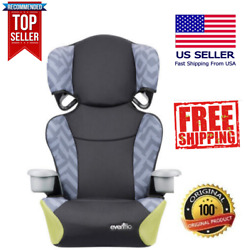New Evenflo Booster Car Seat Big Kid High Back 2 In 1 Belt Positioning $28.00
