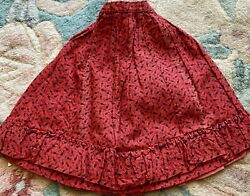 Antique Fancy Skirt for French German Bisque Doll Or Vintage Doll $38.00