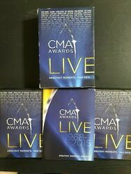 CMA Awards Live Greatest Moments DVD 10 Disc Set Damaged Case Complete