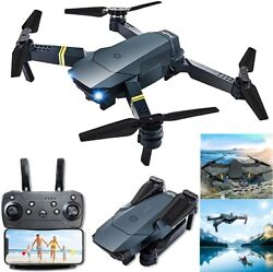 Rc Drone WIFI FPV HD Camera Foldable Selfie Live Video Rc Quadcopter Drone Toys $42.99