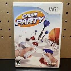 Game Party for Nintendo Wii 2007 TESTED FREE SHIPPING $7.95