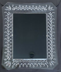 Stunning Waterford Crystal Lismore Pattern 8x10 Picture Frame For 5x7 Photo $65.00
