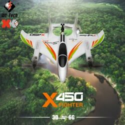 XK X450 RC Plane6 Channel 3D Flight RTF 2.4Ghz RC Aircraft with Brushless $204.99