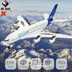 XK A380 RC Plane 3 Channel Airbus Flight RTF 2.4Ghz RC Aircraft with Brushless $93.99