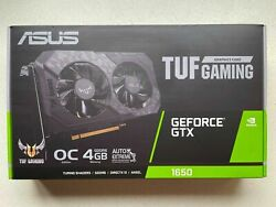 BRAND NEW ASUS TUF Gaming GeForce GTX 1650 OC Edition Graphics Video Card GPU $439.99