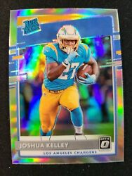 M30 2020 Donruss Optic Joshua Kelley Holo Prizm Rated Rookie Card RC Chargers $6.99