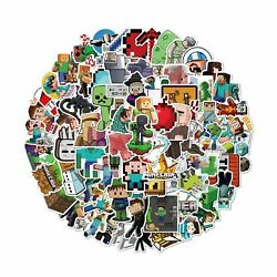 Minecraft Stickers Decals100 Pack Video Game Theme Funny Stickers for Minecra... $12.38