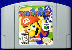 Mario Party For Nintendo 64 N64 Fast Shipping U.S. Seller $24.95