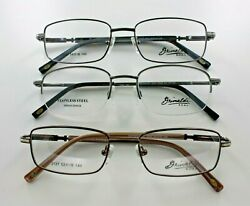New Wholesale Bulk Lot 3 Designer Men Prescription Optical Eyeglasses Frames
