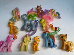 Lot Of 12 Of My Little Pony Figures Very cute and in VGC Rare $32.00