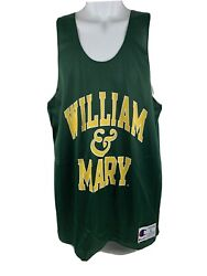 William amp; Mary Tribe College Tank Jersey SZ L NWOT Champion Brand