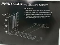 Phanteks PHVGPUKT02 Vertical GPU Bracket Kit $29.99