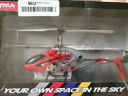 Syma S107G RC Helicopter 3.5CH Mini Metal Remote Control Helicopter Red Sealed $19.97