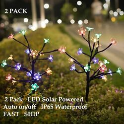 8 LED Solar Disk Lights Garden Outdoor LED Path Lawn Decor Walkway 4 Pack $13.59
