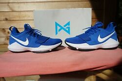 2017 Nike PG 1 quot;Game Royal White Blackquot; Size 9.5 2953 878627 400