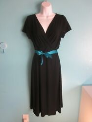 Talbots Black Dress Size M