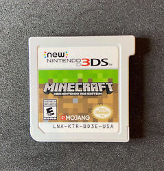 minecraft for new nintendo 3ds GAME CARTRIDGE ONLY C $23.95