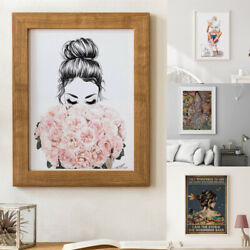 Canvas Paintings Women Posters Print Nordic Home Decors Modern Wall Art 30*40cm $13.59