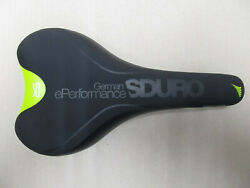 Selle royal Sirio Haibike Sduro Men#x27;s Saddle Trekking Black Lime $130.87
