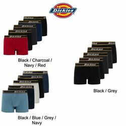 Dickies Mens Boxer Briefs Breathable Mens Underwear Boxer Brief for Men Pack 5 $16.99