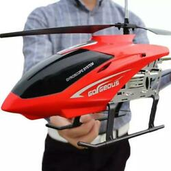 RC Helicopter 3.5CH 80cm Large Remote Control Anti Fall Aircraft RC Drone Toys $85.99